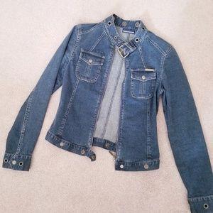 DKNY Jeans - Retro Vintage 2000s Jean Jacket
